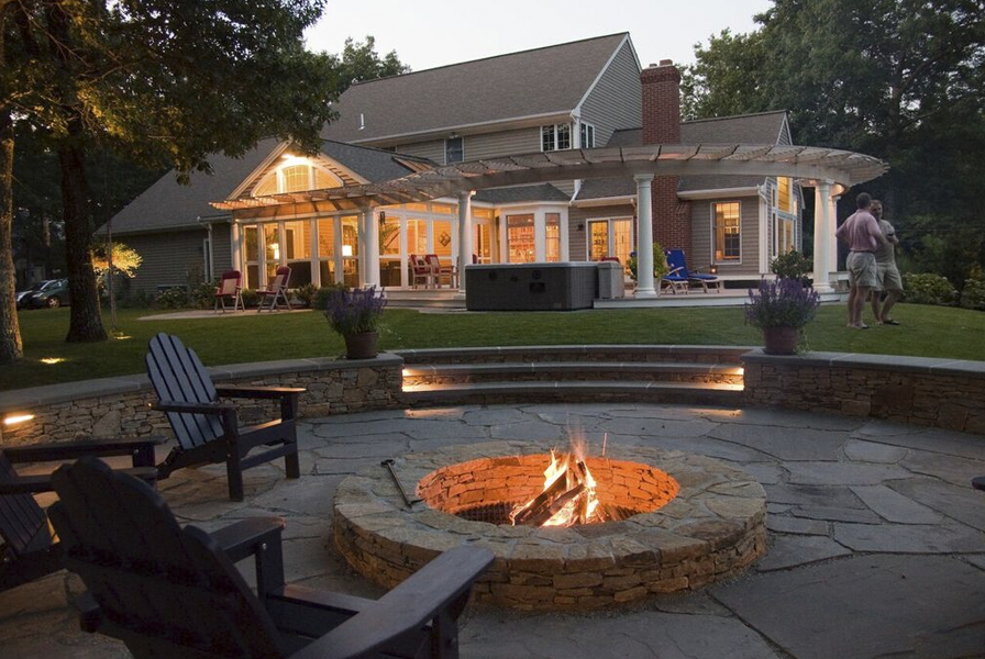 "DSC07434. "" - Outdoor Living – Patio And Deck Design In RI & MA Modern Yankee"
